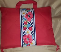red and white floral tote bag Ellicott City, 21043