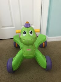 Fisher price riding/walking dinosaur for baby/toddler