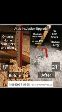 Full Attic Upgrade - Furnace  $1750 rebates