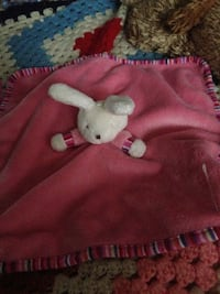 Jelly cat pink bunny /Blankie/Soft toy/Comforter Guildford