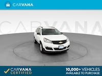 2017 Chevy Chevrolet Traverse suv LS Sport Utility 4D White