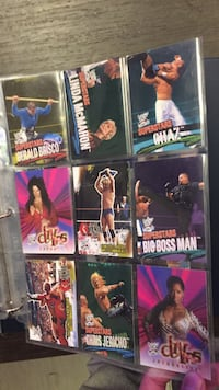 WWE sticker collection London, N6A 0C1