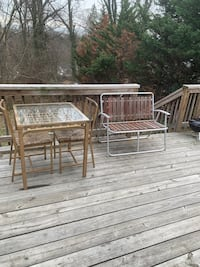 Patio table with chairs and stand Riverdale, 20737