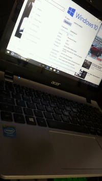 "Acer 11.6"" touchscreen laptop. $350.00 Edmonton, T5W 2Y3"