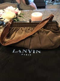 Lanvin suede brown/taupe  leather bag Las Vegas, 89148