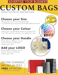 Costume bags/ promotional bags Mississauga, L4X 1L2