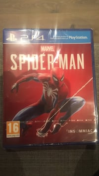 Spider-man ps4 spill Kongshavn, 4812
