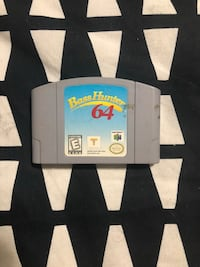 Nintendo N64 Game Bass Hunter 64