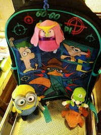 PHINEAS AND FURB KIDS BACKPACK W/FRIENDS