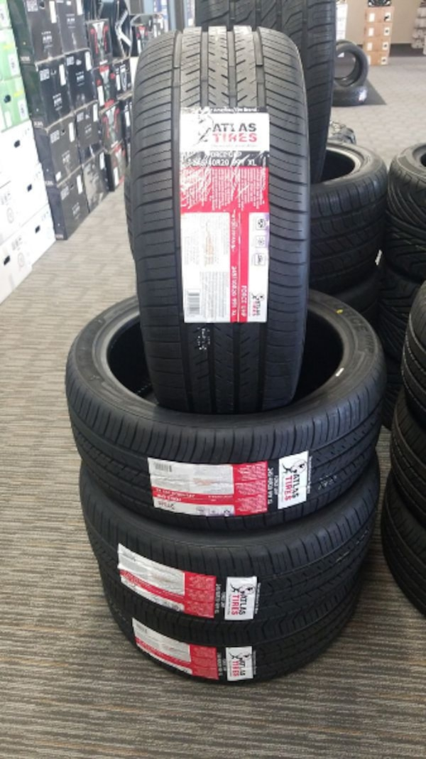 Used Tires Portland >> 245 40 20 Atlas Low Profile Tires In Stock