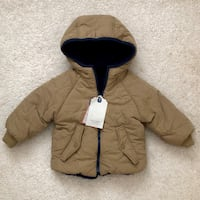 Zara baby boy reversible winter jacket size 12-18 months Mississauga, L5M 0H2