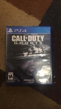 PS4 Call of Duty Ghosts game case Woodbridge, 22193