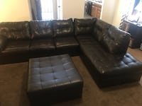 Black Sectional Couch  Bakersfield, 93314