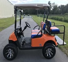 2Q16 Golf Cart by Ez Go Electric Everything is excellent condition--!!