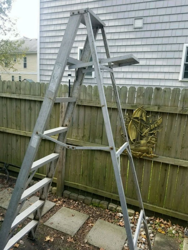 Prime 18 Ft Aluminum Step Ladder Caraccident5 Cool Chair Designs And Ideas Caraccident5Info