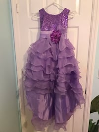 Beautiful Lavender Bridal/Party Dress. New, Girls size 12 Cutler Bay, 33189