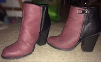 Size 7 two tone boot heel Port Coquitlam, V3C