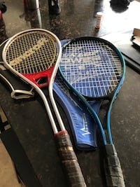 two tennis rackets Kelowna, V1W 4L5