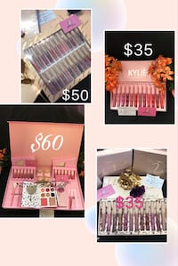 four Kylie cosmetic kits collage Ashcroft, 2168