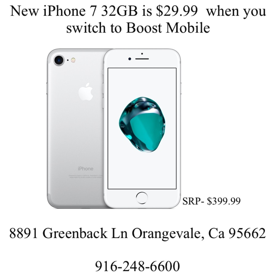 Photo New Apple iPhone 7 32GB - Boost Mobile