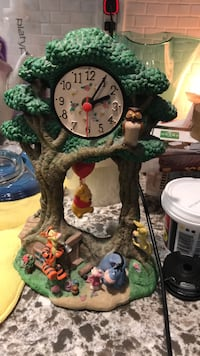Disney clock. A bit dusty needs battery  265 mi