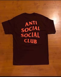 Anti social social club Tee (Price Negotiable)
