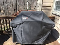 Weber Gas grill with fitted cover. Moving sale. Best offer! Herndon, 20194