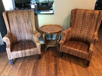 MUST GO: Bombay Company Chair and table set Cheverly, 20785