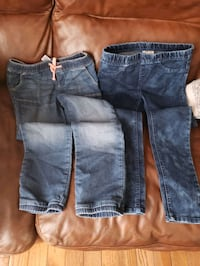 2 Pull on Jeans. (size 8 girls) Mississauga, L5L 4H5