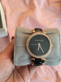 Rose gold and black Michael Kors watch Tempe, 85282