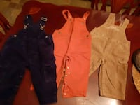 3 pairs Overalls for 12-18 months Montréal, H8N 2M9