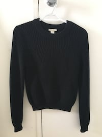 Black Knit Sweater Toronto, M2M 3Z1