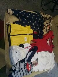 baby's assorted clothes 563 mi
