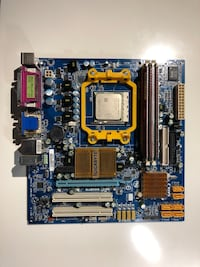 Gigabyte Motherboard, Athlon X2 CPU and 2 GB DDR2 memory