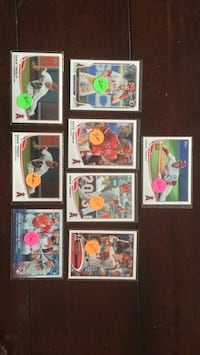 Mike Trout Bowman and Topps baseball cards Bristol, 24201