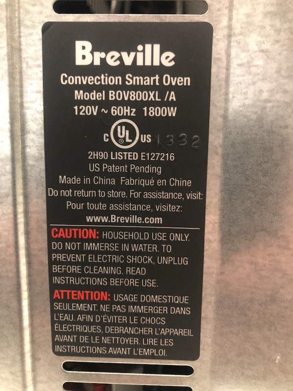 Breville convection smart oven 4