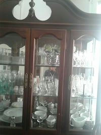 China cabinet contents not included Atlanta