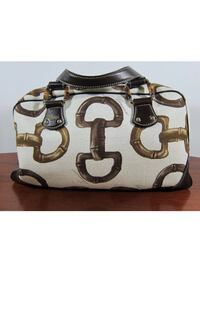 Lovely Authentic Gucci Horsebit Print Handbag  Chevy Chase, 20815