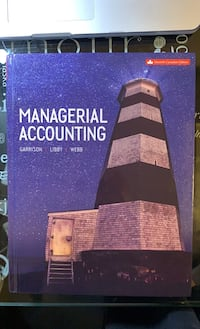 Managerial Accounting Textbook (11th Edition) Toronto, M6E 2S2