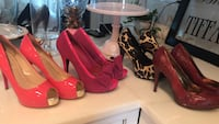 Four beautiful pairs of stiletto heels perfect condition size 8 1/2 Saint Petersburg, 33710