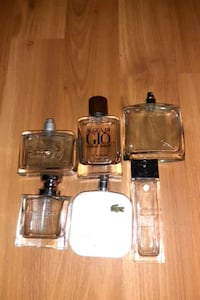 Assorted colognes  Langley City