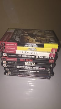 Game lot ps2 Plano, 60545