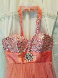 women's pink, silver prom/bridal dress East Bethany, 14054