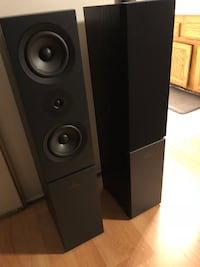 black and gray tower speaker Woodbridge, 22192
