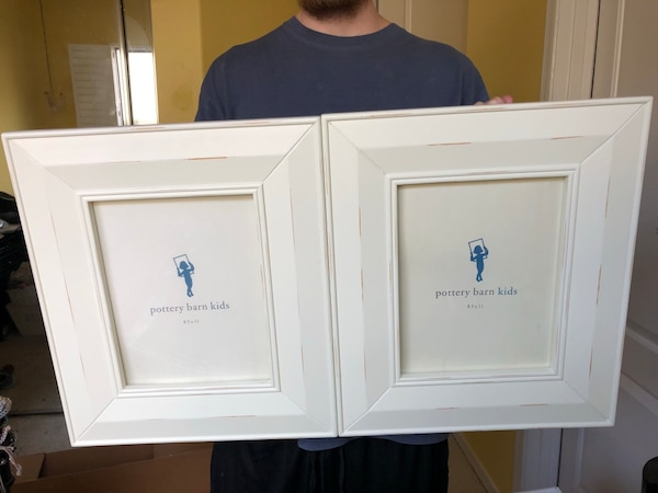 Pottery Barn picture frame set