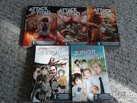 Junior High and Attack of Titan manga book collection Oviedo, 32765