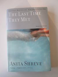 Softcover Book The Last Time They Met By Anita Shreve Notre-Dame-de-l'Île-Perrot