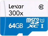 Lexar 64gb micro sd card for cell phone Montreal, H1Z 3R1