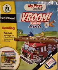 Leap Frog My First leap pad vRoom box Ontario, N0R 1C0