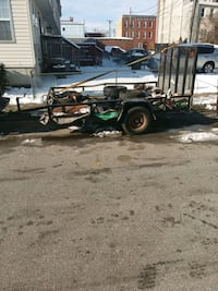 black and gray utility trailer Baltimore, 21217